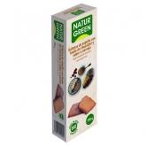 Biscotti BIO di farro con base di cioccolato e arancia Naturgreen, 190 g