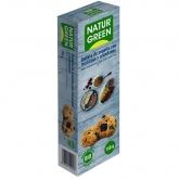 Biscotti BIO di farro con mela e mirtilli Naturgreen, 150 g