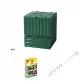 Kit compostaggio in giardino