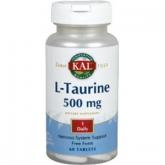 L-taurina 500 mg Kal, 60 compresse