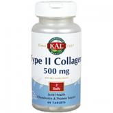 Type II Collagen 500 mg kal, 60 compresse