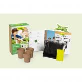 Kit di coltivazione infantile mini Piselli Sembra