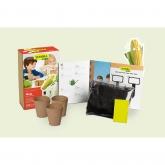Kit mini coltivazione per bimbi Mais per popcorn Sembra