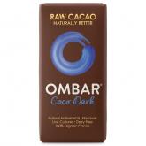 Cioccolato fondente con crema di cocco crudo Bio OMBAR 35 g
