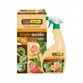 Tripla azione. Soluzione ecologica contro insetti, melasse e funghi Flower