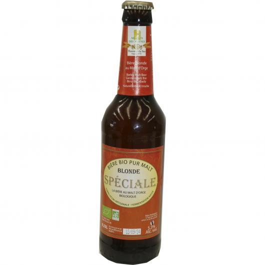 Bière bio malt Moulin des Moines 0,33 l