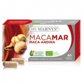 Cápsulas Maca Andina Ecológica 500 mg Marnys, 60 unidades