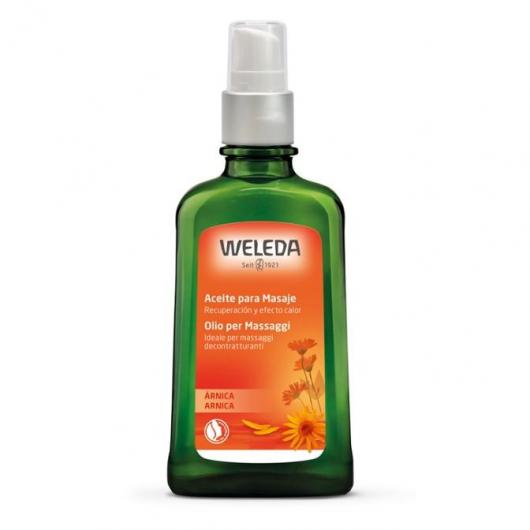 Aceite para masaje con Árnica Weleda