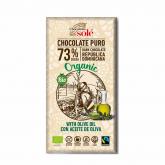 Cioccolato Nero con olio di oliva Solé, 100gr