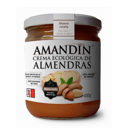Crema de almendras Amadín, 430g