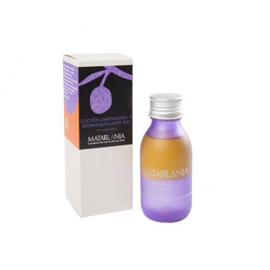 Crème nettoyante et démaquillante Bio Matarrania, 100 ml
