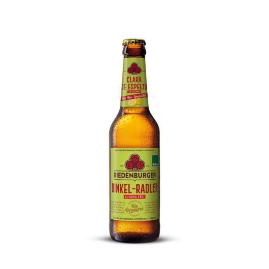 Bière claire à l'épeautre sans alcool Riedenburguer, 33 cl