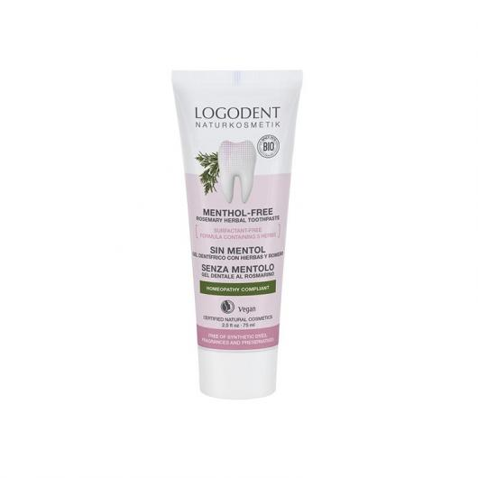 Gel dentifricio Rosmarino e Salvia Logona, 75ml