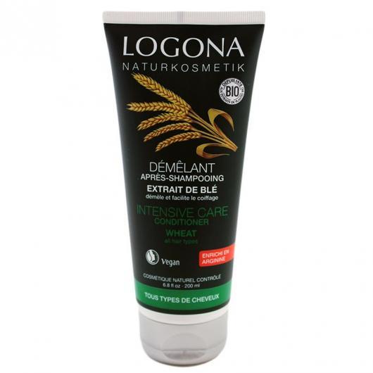 Après-shampooing aux protéines de blé Logona, 200 ml