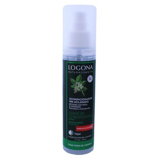 Après-shampooing sans rinçage en spray Logona, 150 ml