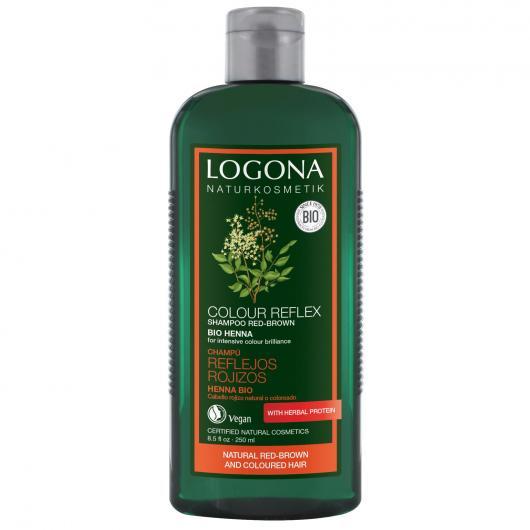 Shampooing reflets henné Logona, 250 ml