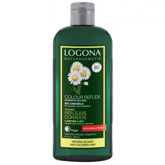 Shampoo riflessante camomilla Logona, 250ml