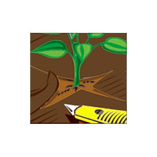 Malla anti-hierbas marrón 100 g/m2