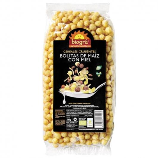 Boules de maïs au miel Biográ, 250 g