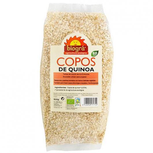 Copos de Quinoa Biográ, 500g