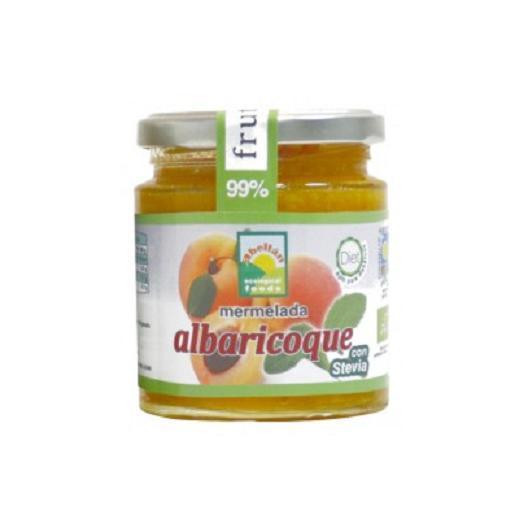 Confiture d'abricots avec stévia Abellán, 235 g