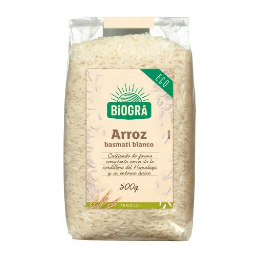 Riz Basmati blanc Biográ, 500 g