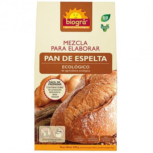 Mezcla para elaborar Pan de Espelta Biográ, 509g