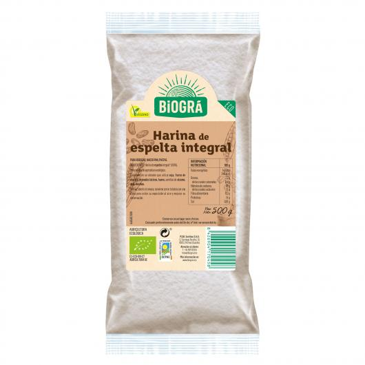 Farine complète d'épeautre Biográ, 500 g