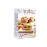 Panini bio energetici con amaranto senza glutine Schnitzer, 4 unità