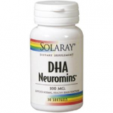 DHA Neuromins 100mg Solaray, 30 capsule