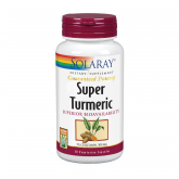 Super Turmeric Solaray, 30 capsule vegetali