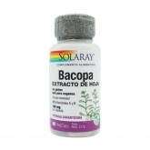 Bacopa 100 mg Solaray, 60 capsule vegetali