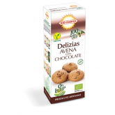 Delizie d'avena con cioccolato Bio-Darma, 125 g