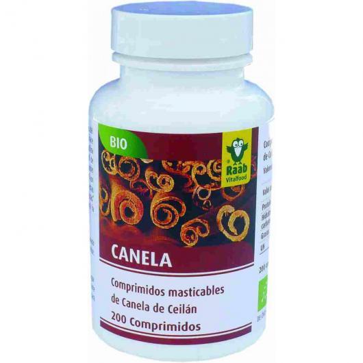 Comprimidos comestibles de Canela de Ceilán Raab, 240 comp.