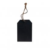 Mini Tag 8x5cm Negro