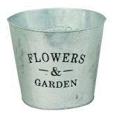 Balde  Zinc Flowers & Garden