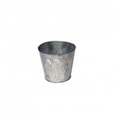 Vaso di fiori di metallo Flowers Zinc