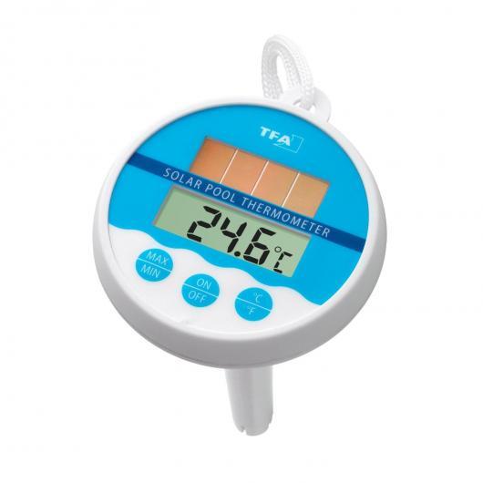 Termometro digitale per Piscina con pannello solare
