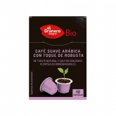 Capsule di caffè suave BIO El Granero Integral, 10 capsule