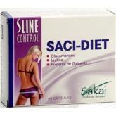 Sline control Saci-Diet Sakai, 60 cápsulas