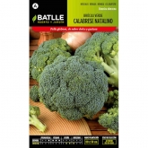 Semillas de  Bróculi verde Calabrese