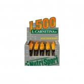 L-carnitina 1500 fragola Nutrisport, 20 fiale