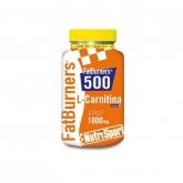 L-carnitina Fatburners 500 Nutrisport, 40 compresse