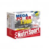 Megapower 7500 cioccolato Nutrisport, 15 bustine