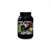 Mega Protein whey+5 vaniglia Nutrisport, 900 g