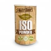 Vegan Iso Powder Frutti di Bosco Nutrisport, 490 g