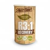 VeganR3:1 Recovery Arancia-Mango Nutrisport, 600 g
