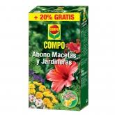 Fertilizzante Vasi e Fioriere 250g + 50g gratis Compo