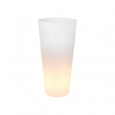 Fioriera Pure straight high LED light Elho