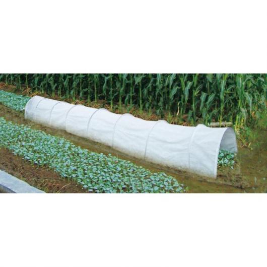 Tunnel grande di coltivazione bianco